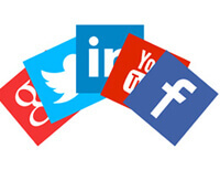 social media to make friends