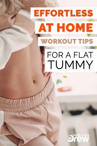 at home workouts for flat tummy