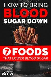 bring blood sugar down
