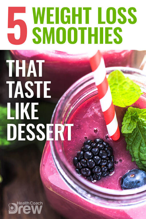 5 weight loss smoothies that taste like dessert