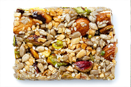 vegan protein breakfast bars