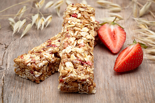 homemade healthy breakfast bars
